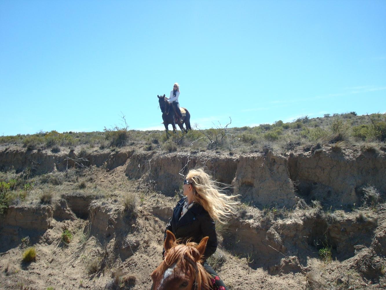 Balade à cheval - Estancia San Guillermo
