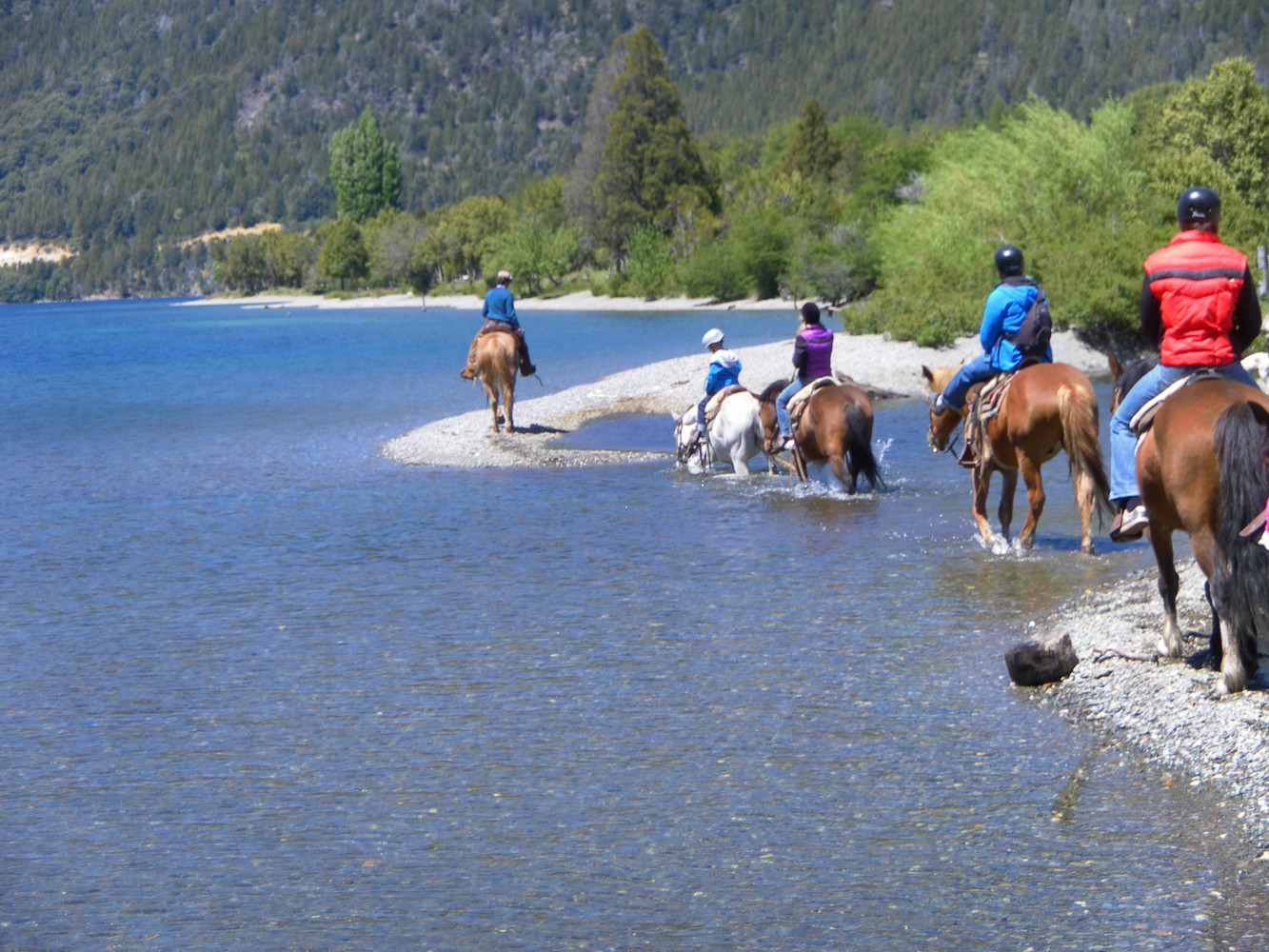 Balade à cheval - Los Baqueanos