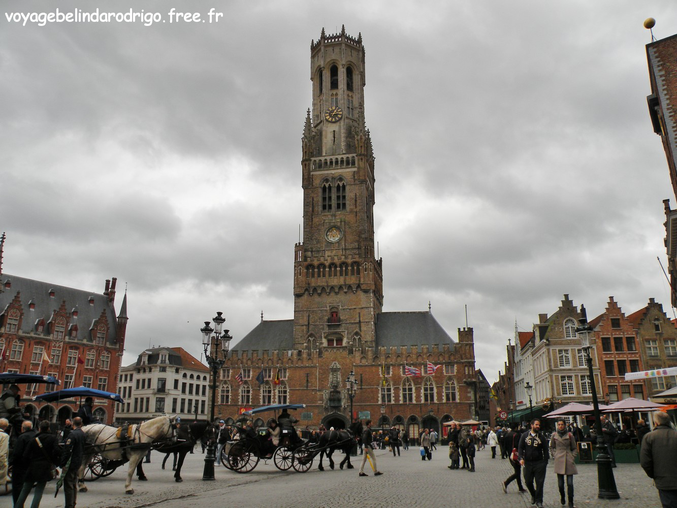 Beffroi - Place du Markt - Bruges
