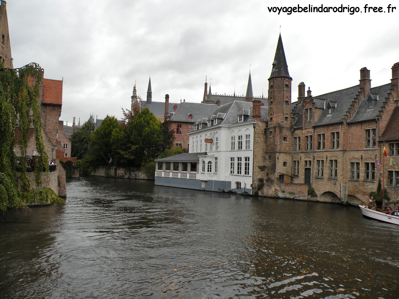 Canal Dijver et Quai du Rosaire - Bruges