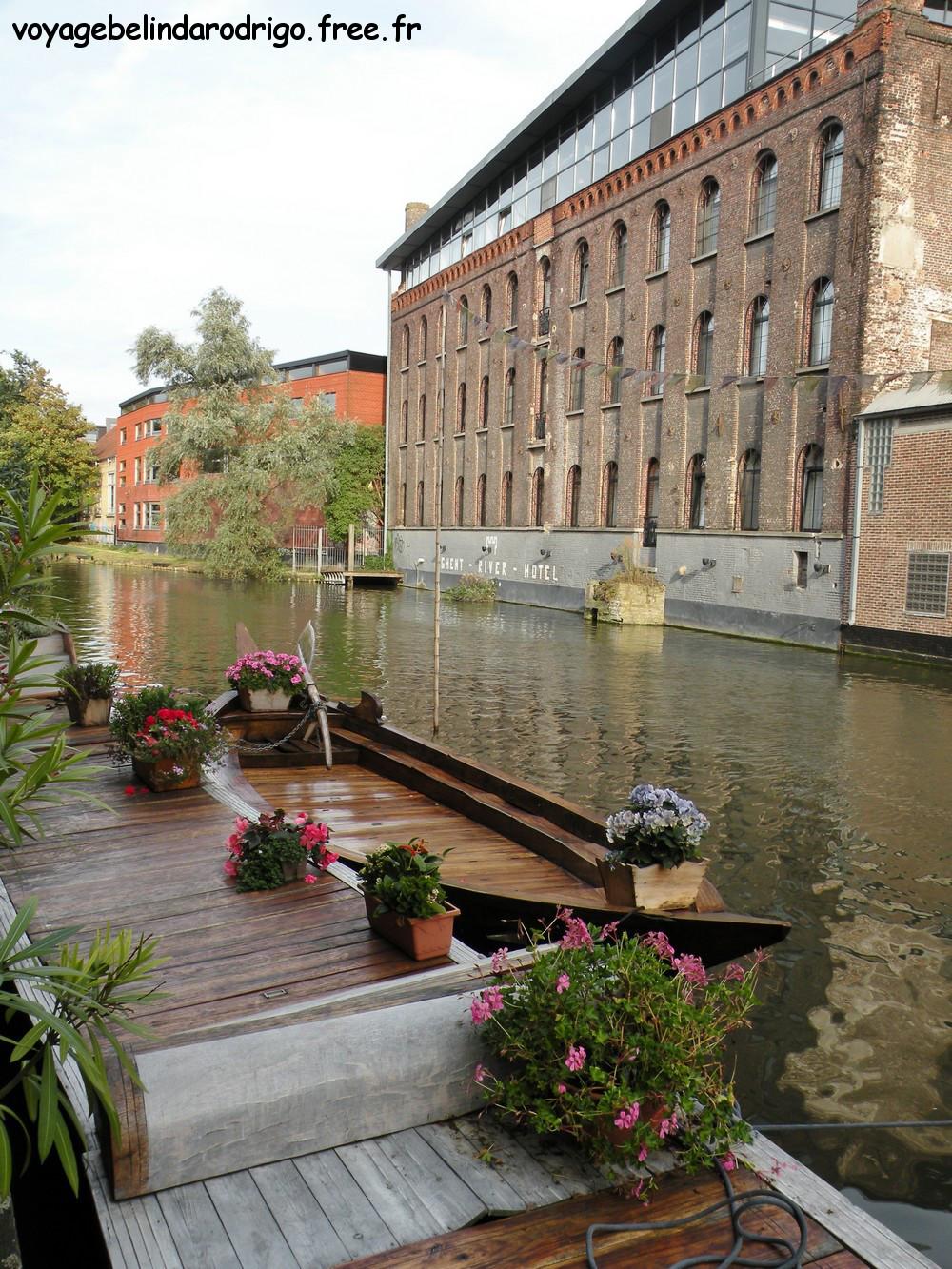 Canal Leie - Gand