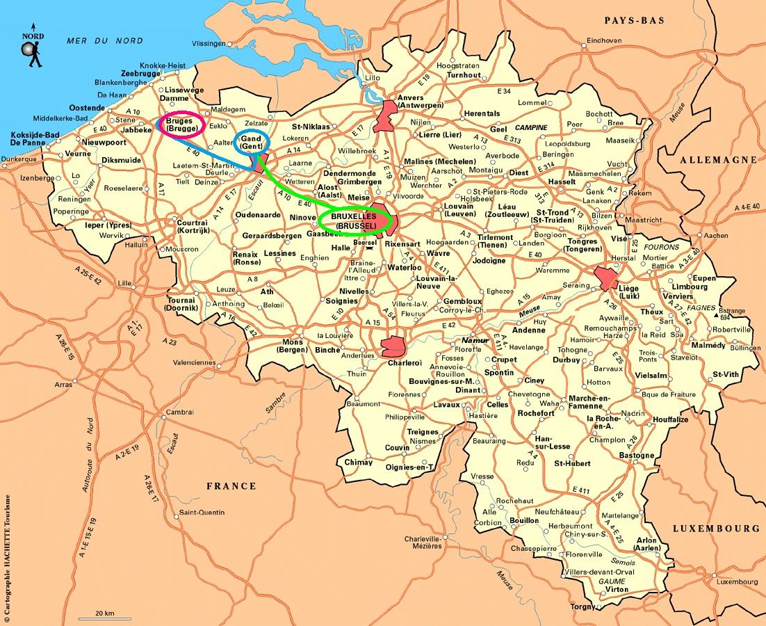Favori 2014 oct : Bruxelles – Gand – Bruges | Blog de Voyage – Carnet de  HV82