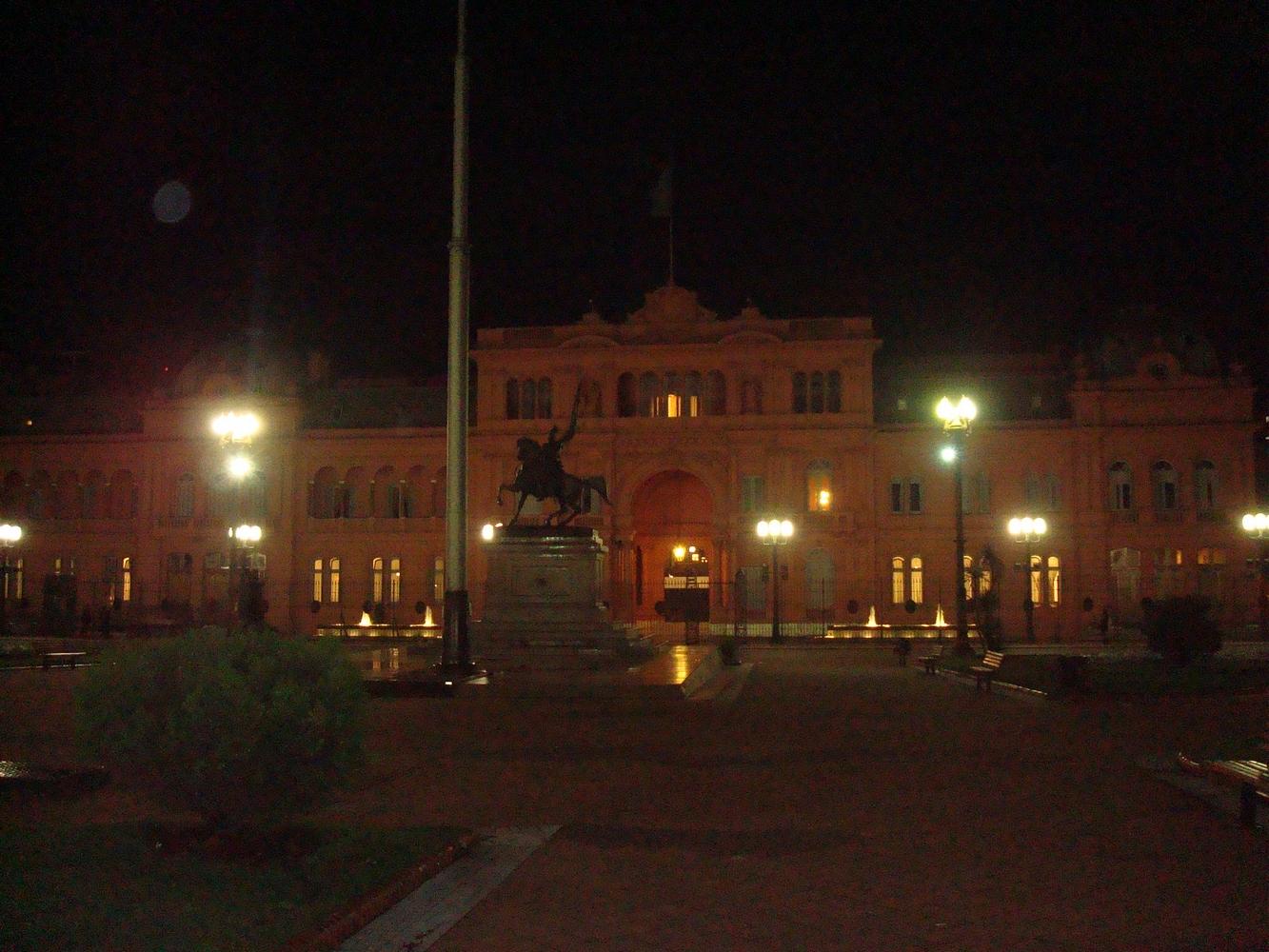 Casa Rosada -Plaza de Mayo