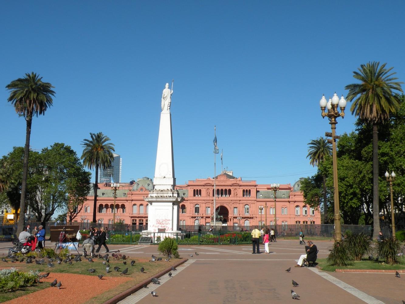 Casa Rosada - Plaza de Mayo
