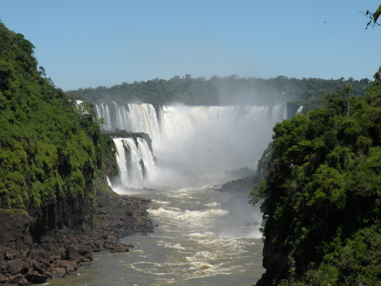 Circuito Inferior - Parque Nacional Iguazú