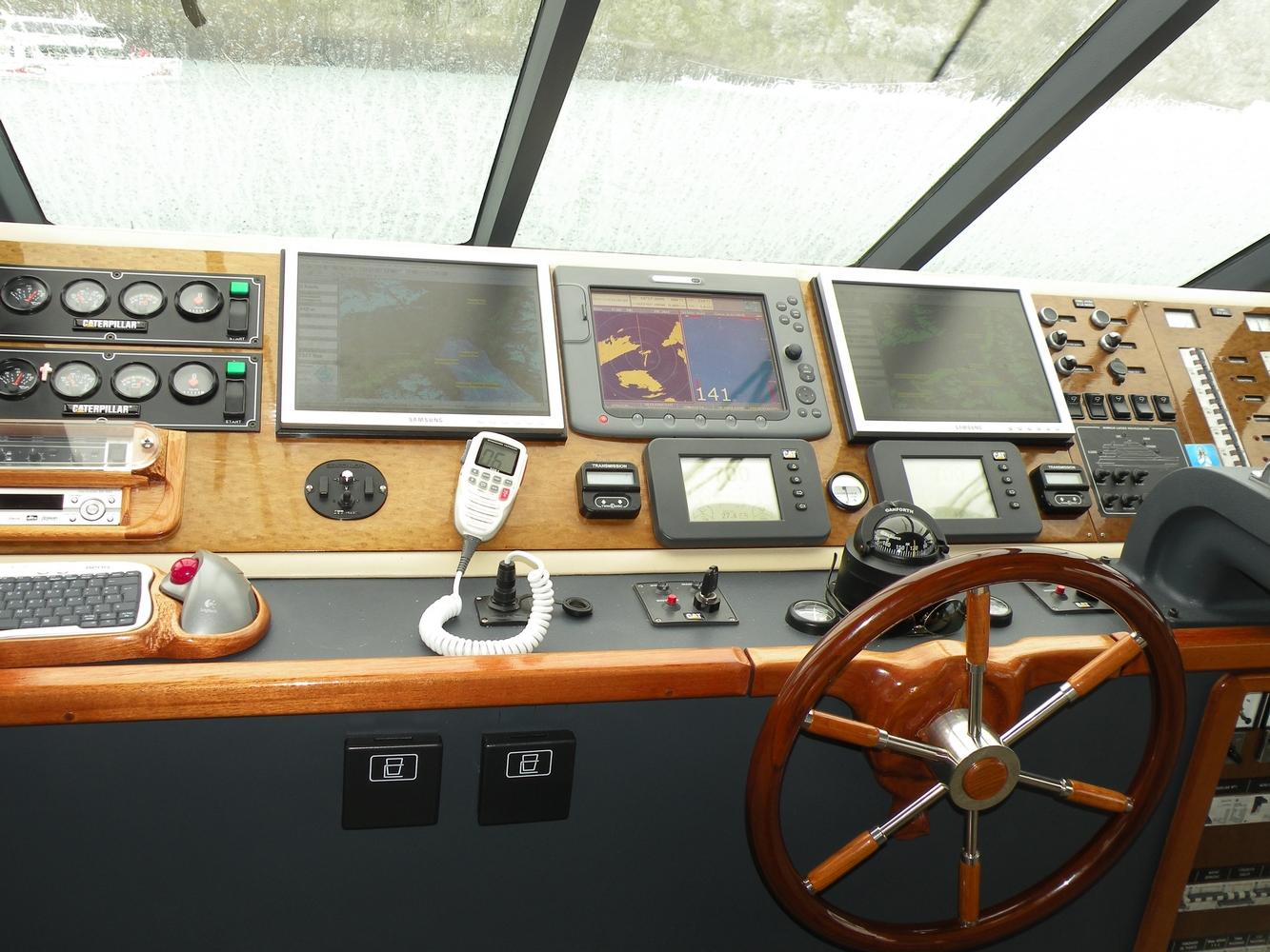 Cockpit - Navigation Lago Argentino