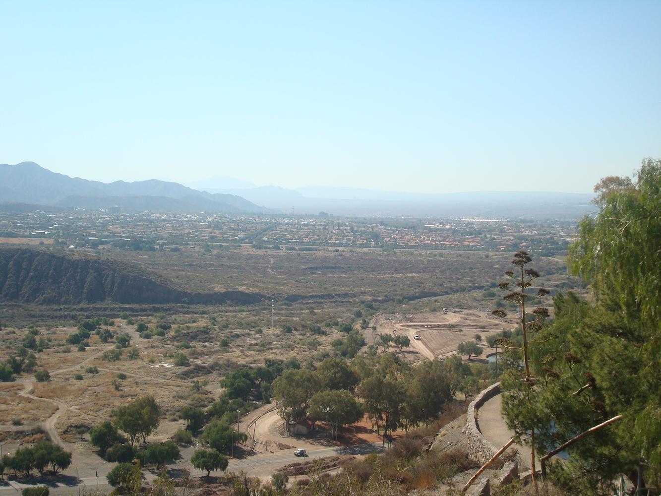 Vue - Cerro de la Gloria