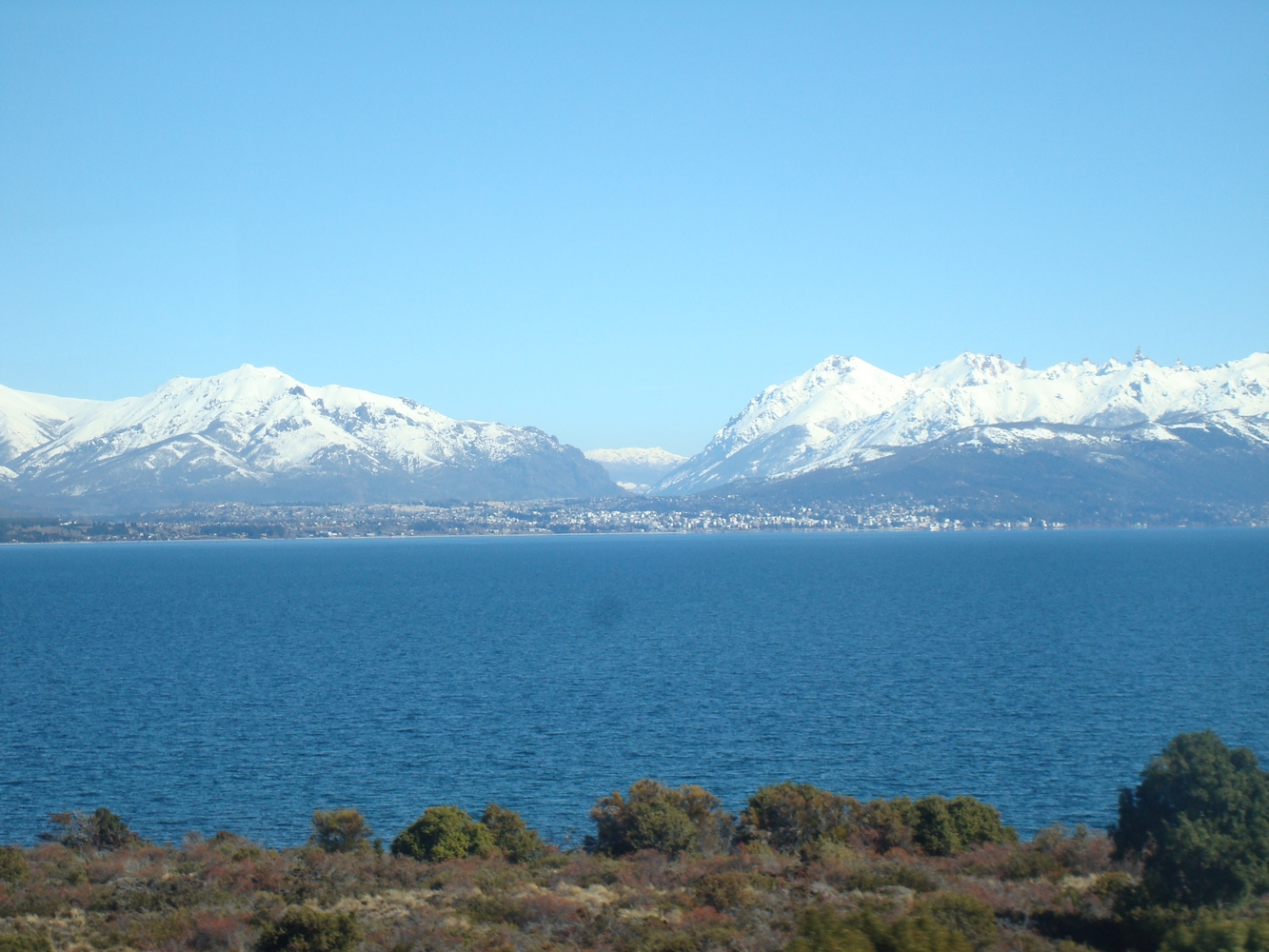 Sur la route de Bariloche