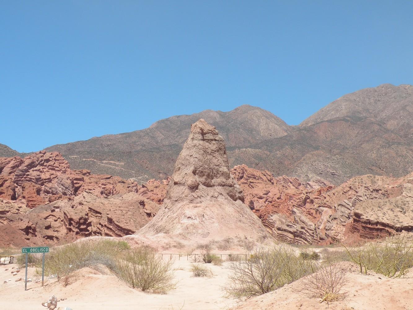 El Obelisco - Quebrada de las Conchas
