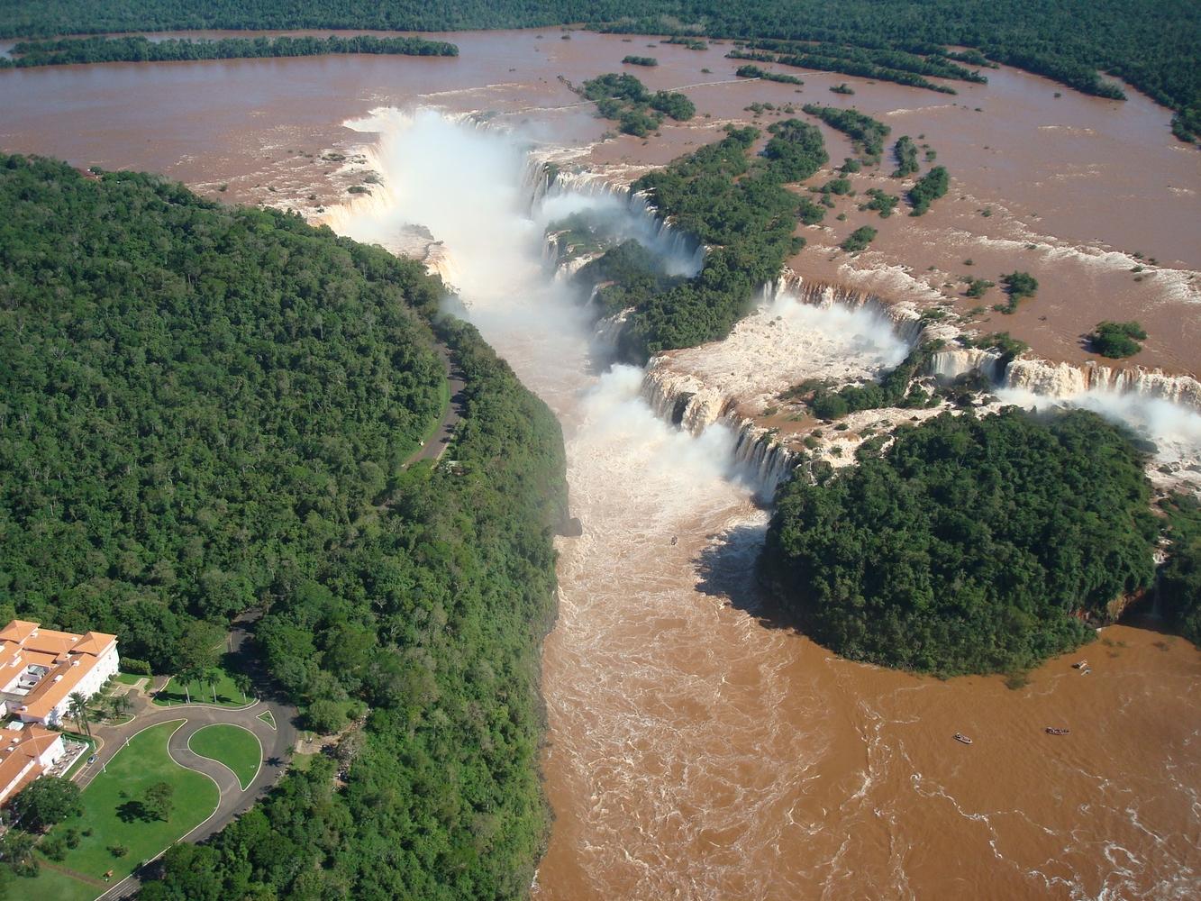 Hélico - Parque Nacional do Iguaçu