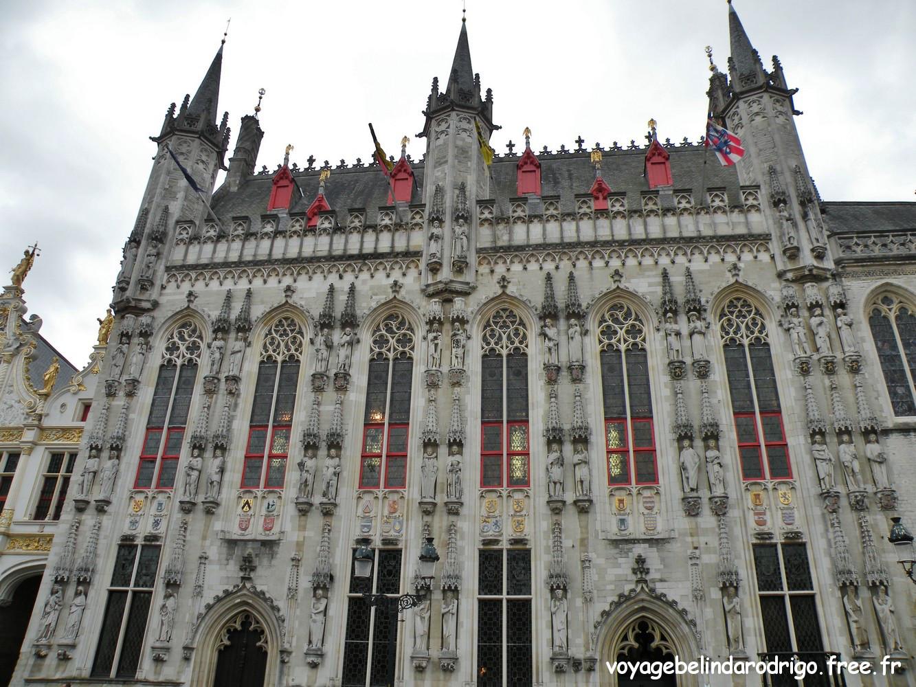 Hôtel de Ville - Place du Burg - Bruges