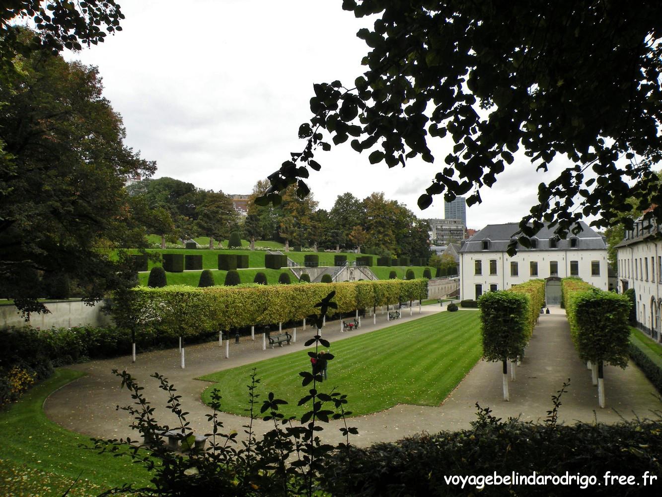 Jardins de l'Abbaye de la Cambre - Bruxelles