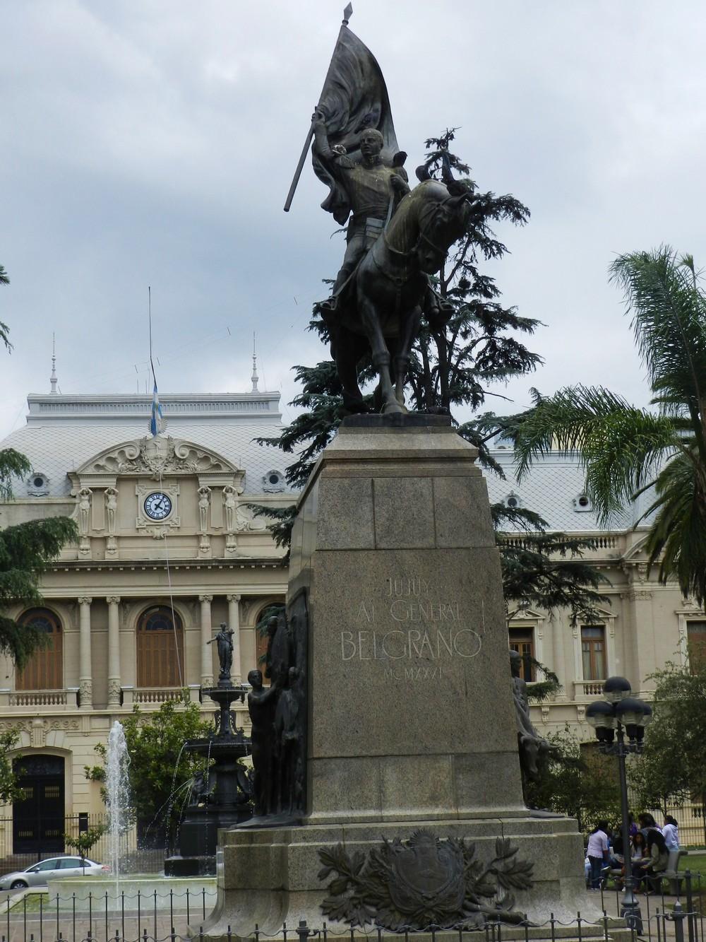 Jujuy - Plaza Belgrano