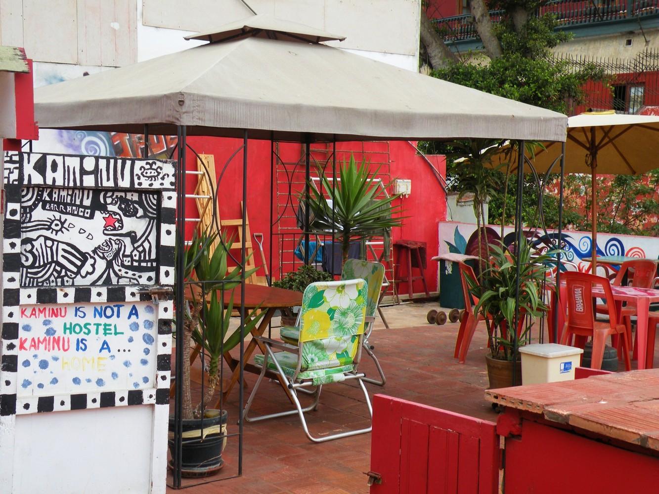Terrasse - Kaminu Hostel - Lima