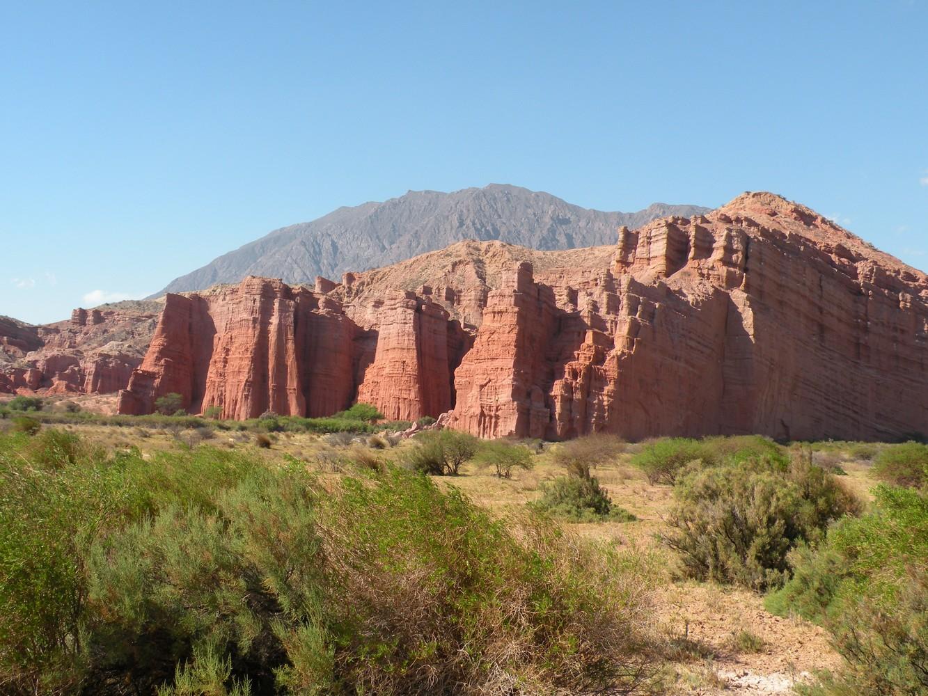 Los Castillos - Quebrada de las Conchas