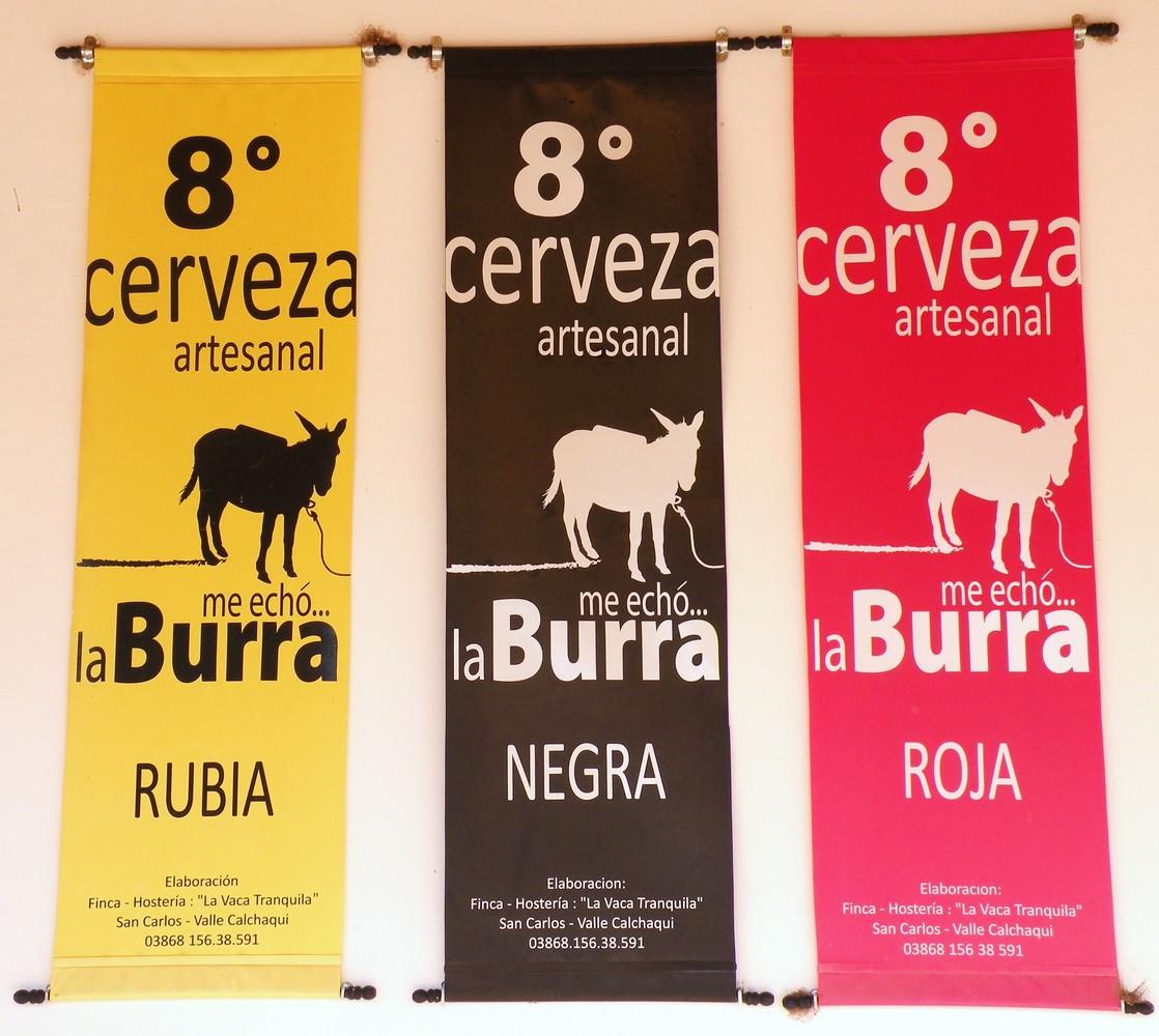 Me echo... la-Burra - La Vaca Tranquila - San-Carlos