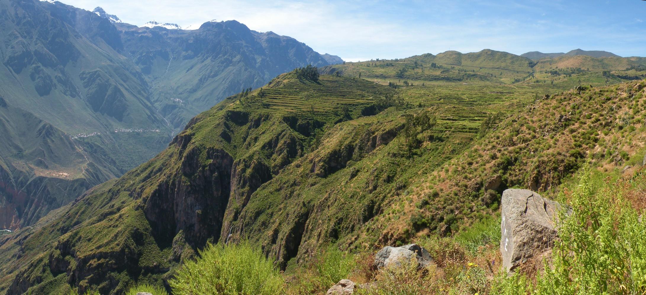 Mirador Achachiwa - Cañon del Colca