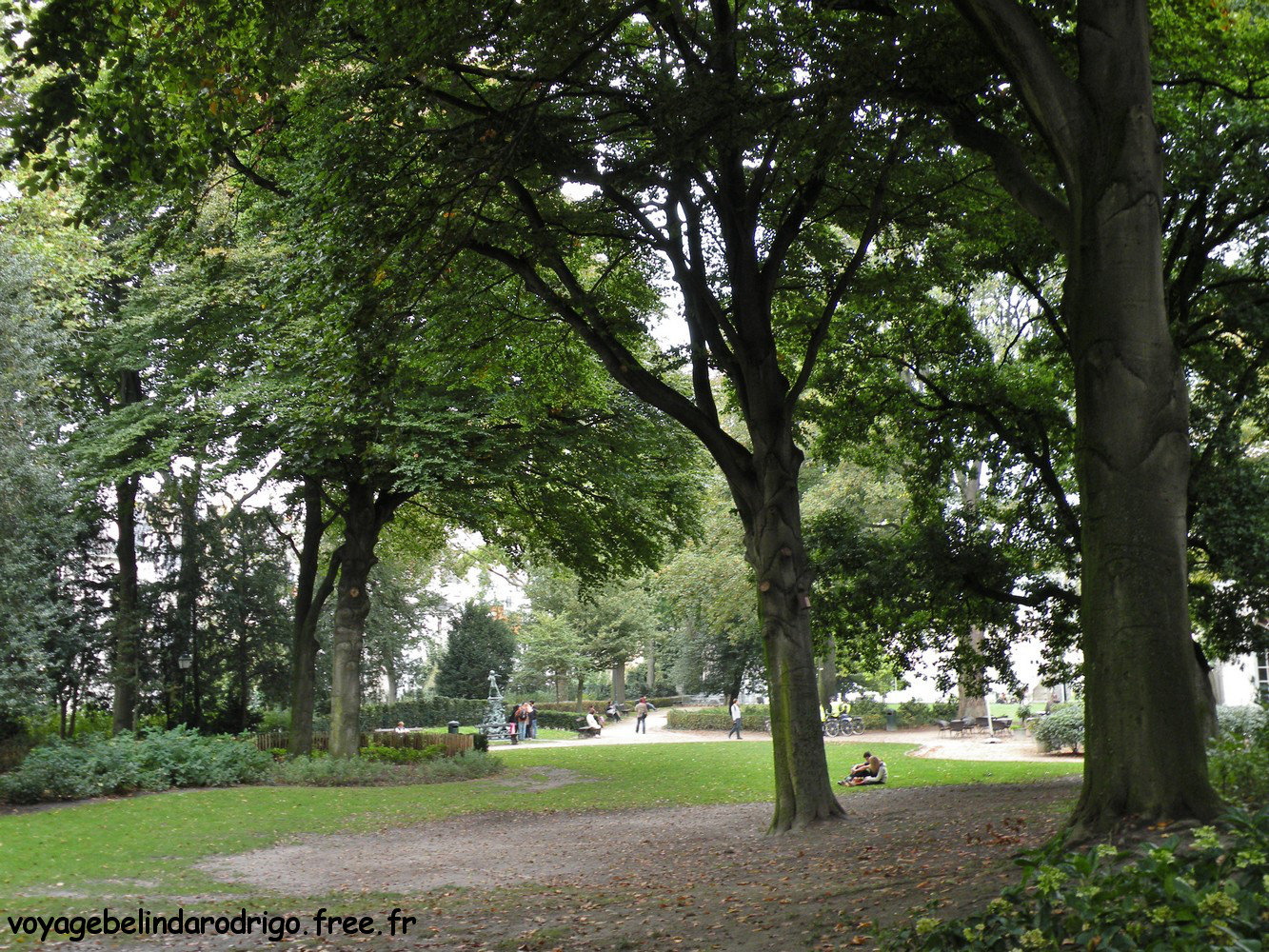 Parc d'Egmont - Bruxelles