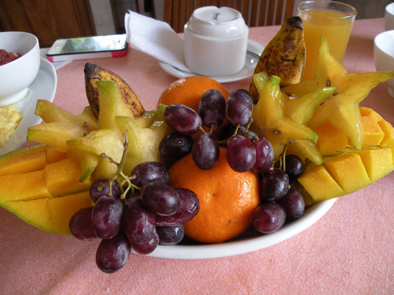 Villa Aya - Petit déjeuner