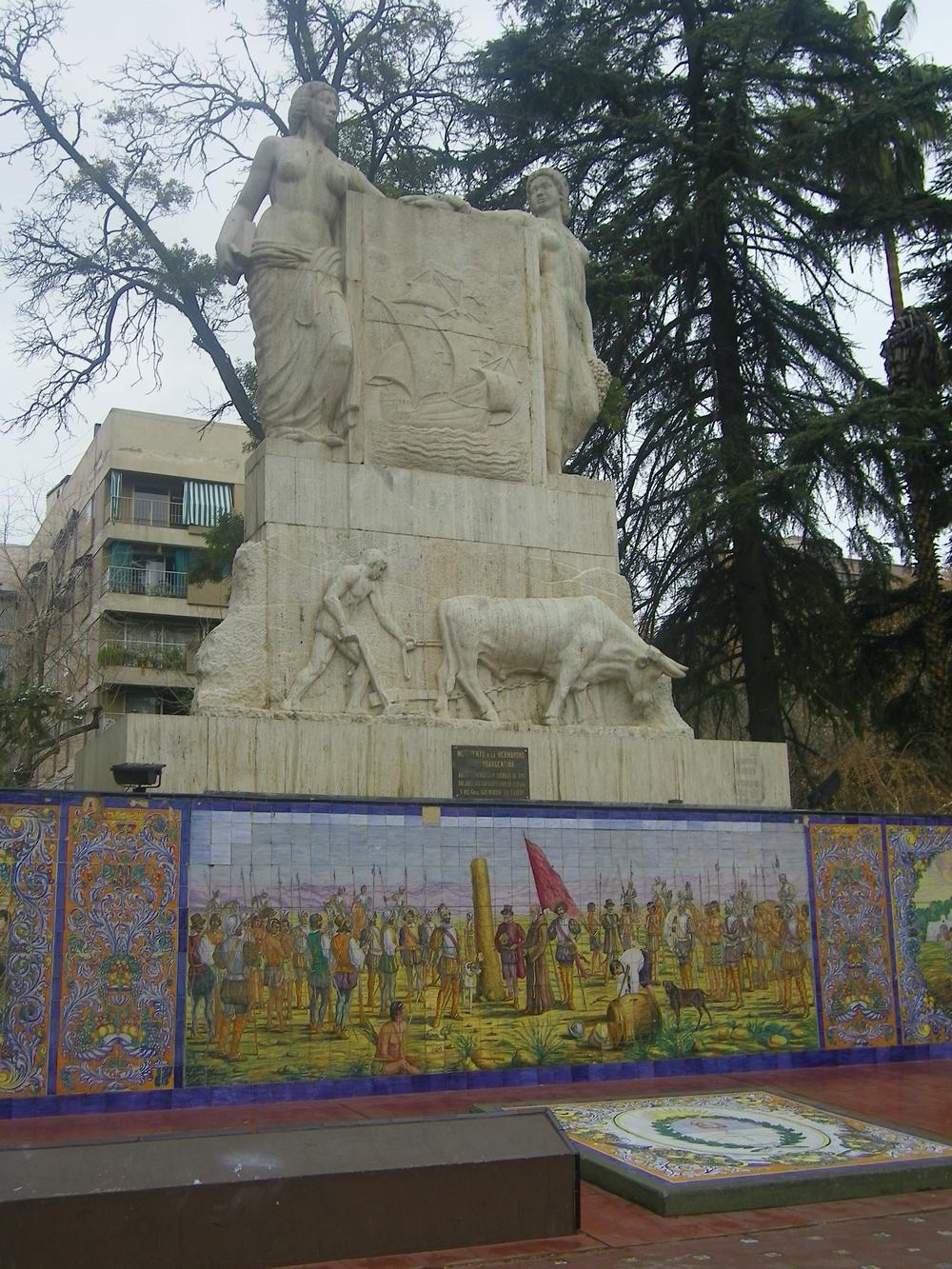 Plaza España - Mendoza