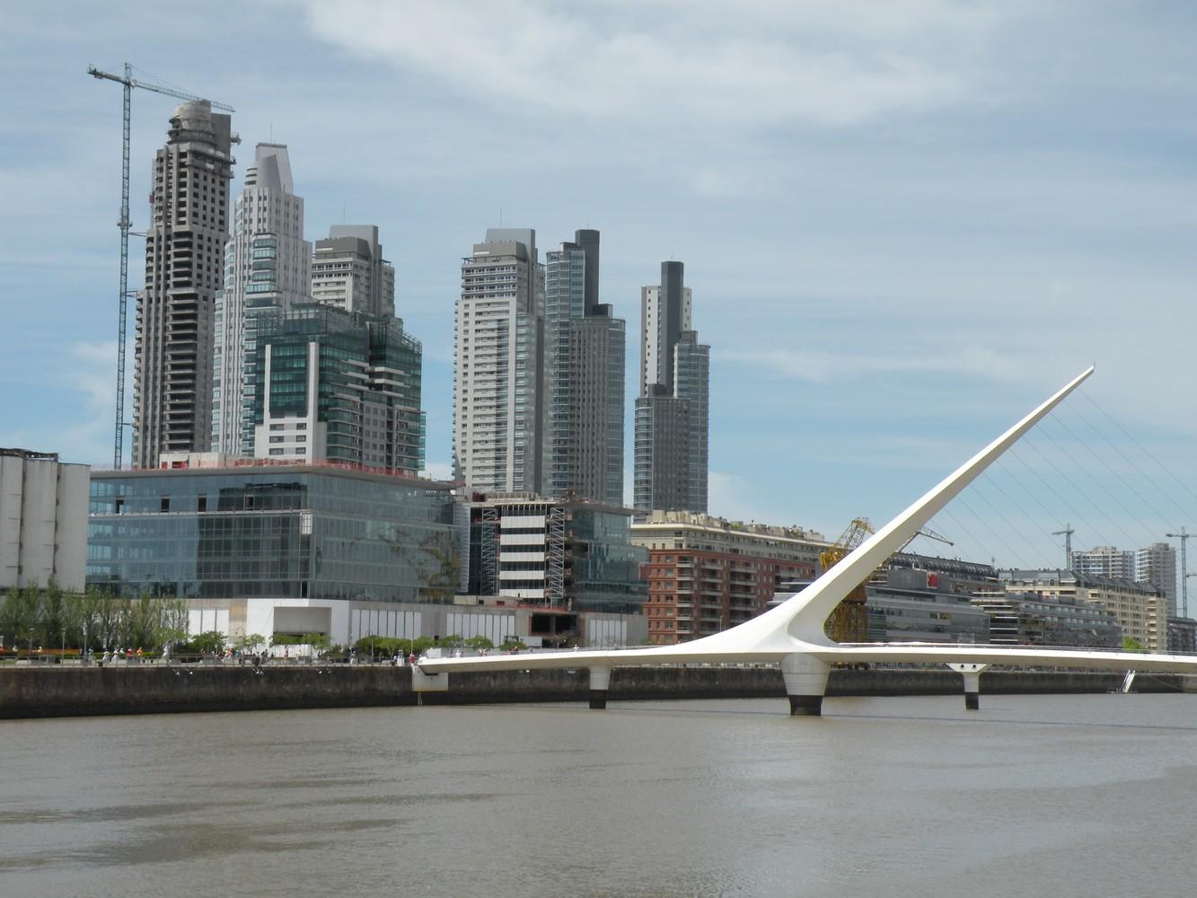 Puente de la Mujer - Puerto Madero