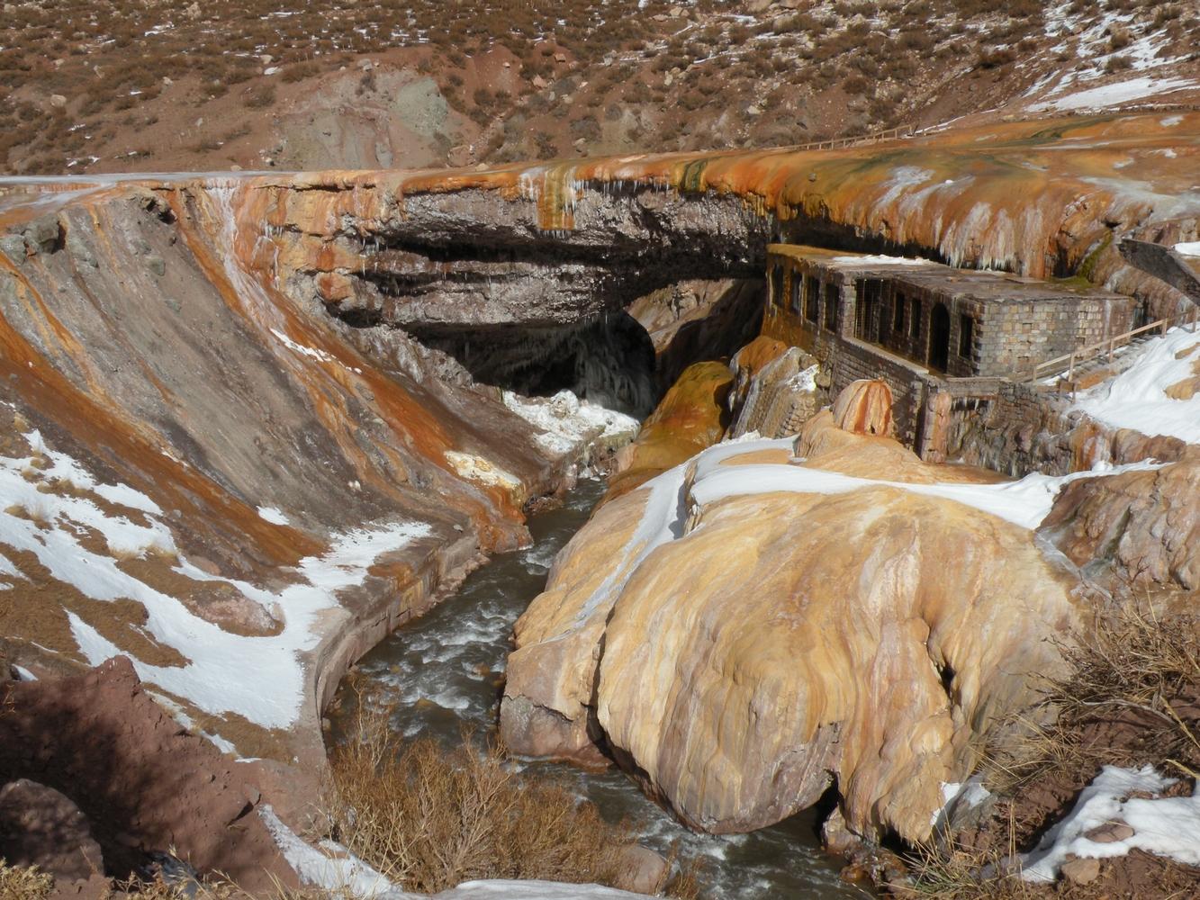 Puente del Inca - Route des Andes - Mendoza