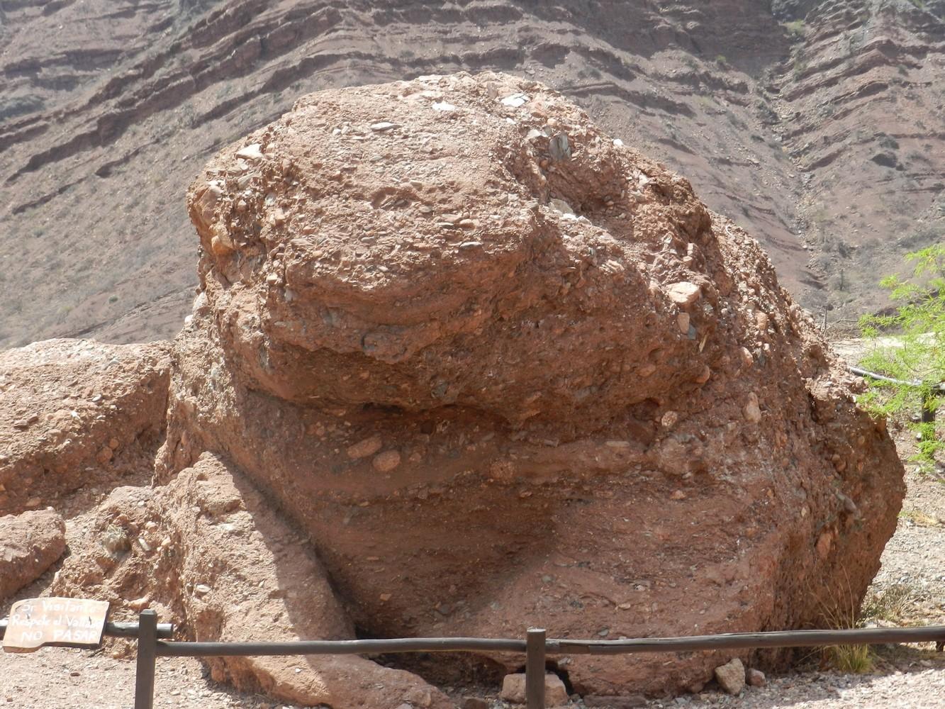 Quebrada de las Conchas - El Sapo