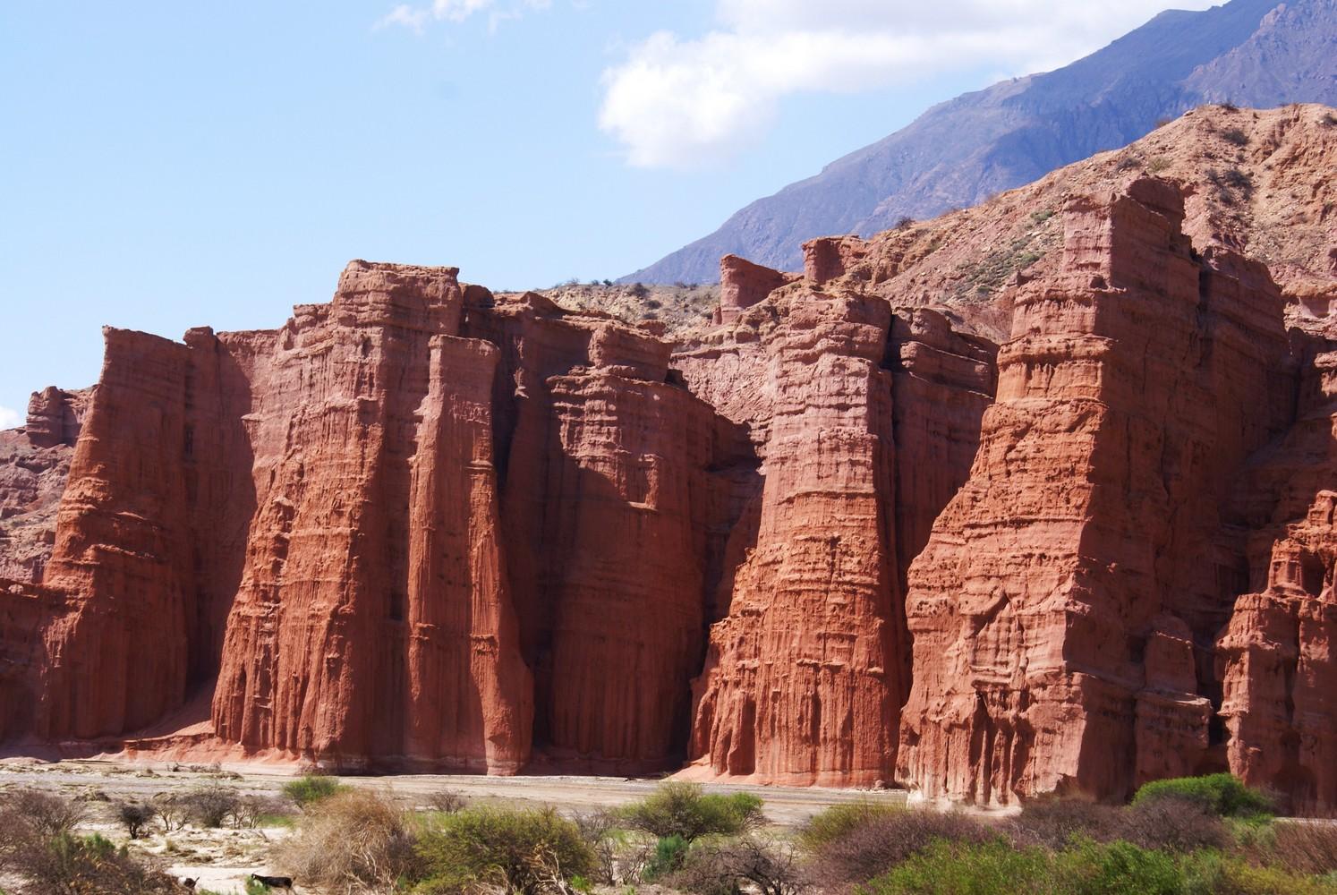 Quebrada de las Conchas - Los Castillos