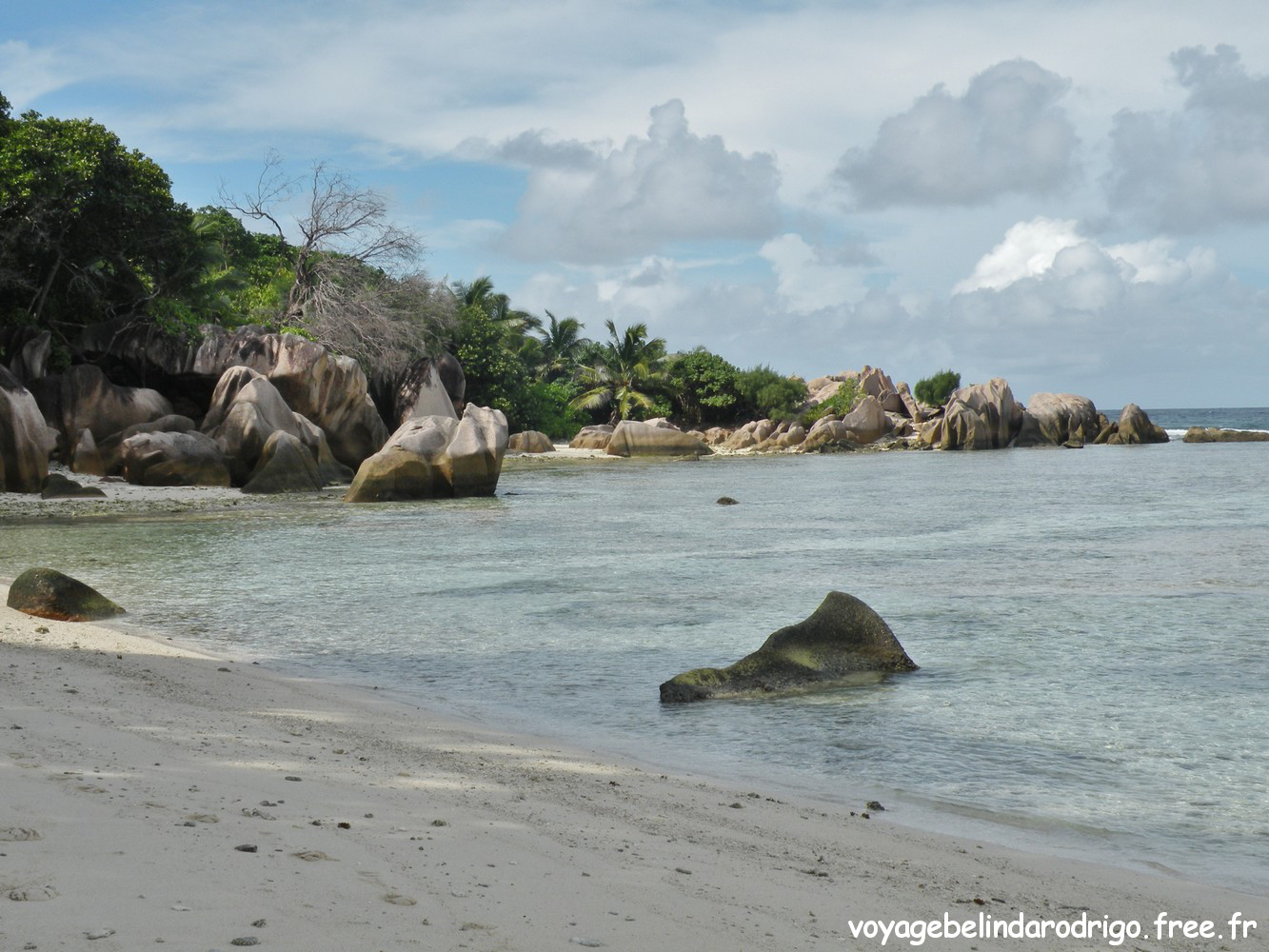 Rando Anse Marron - La Digue