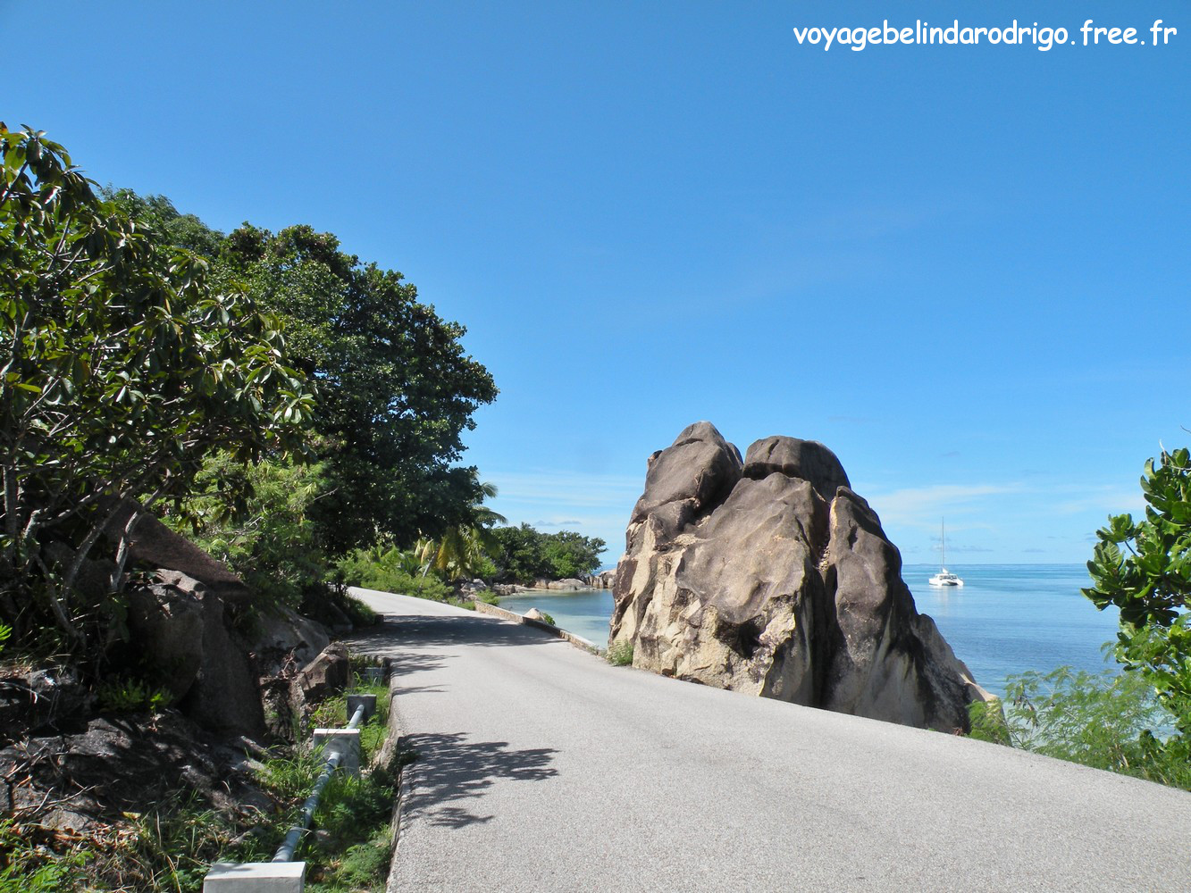Route de Consolation - Praslin