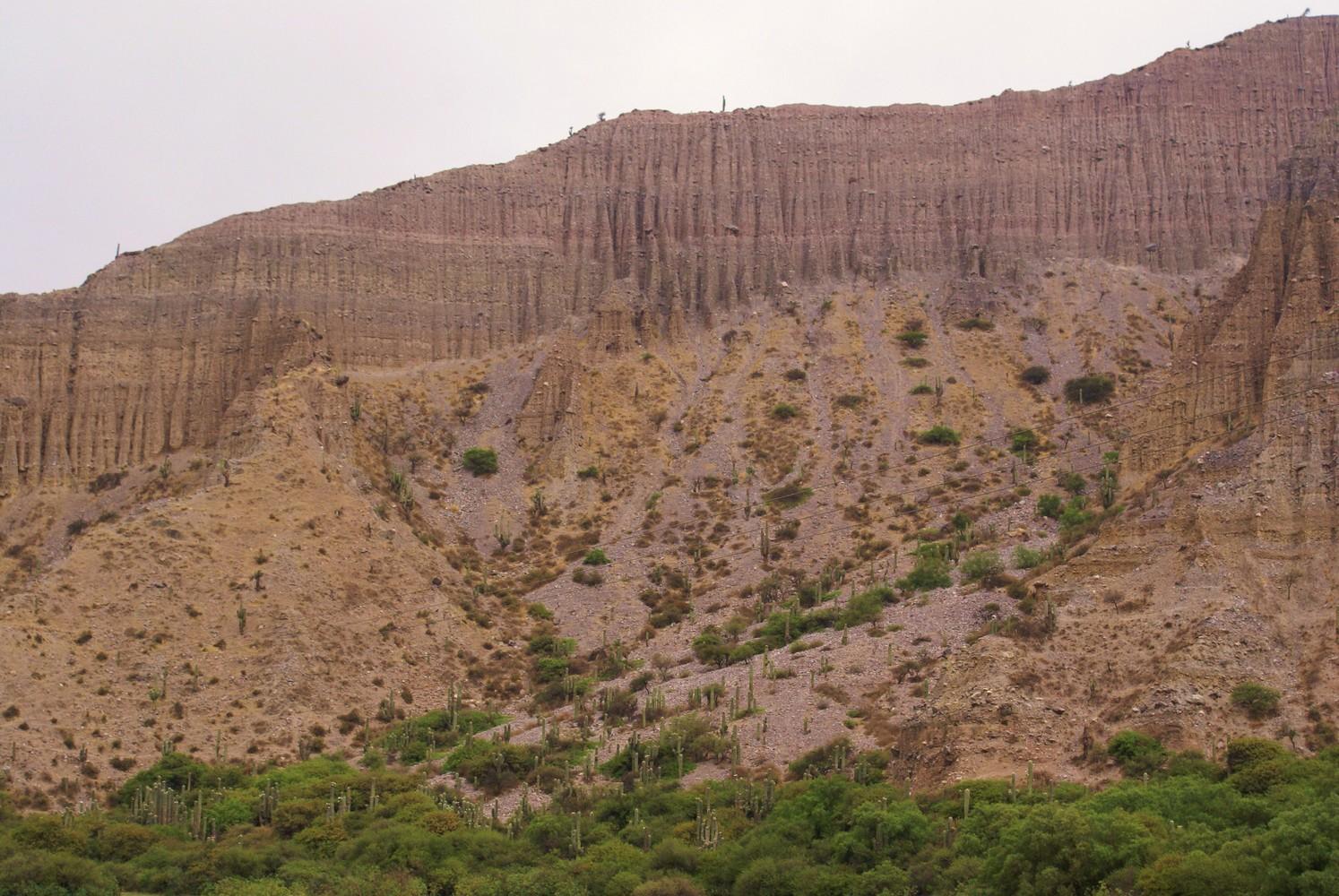 Route entre Jujuy et Tilcara