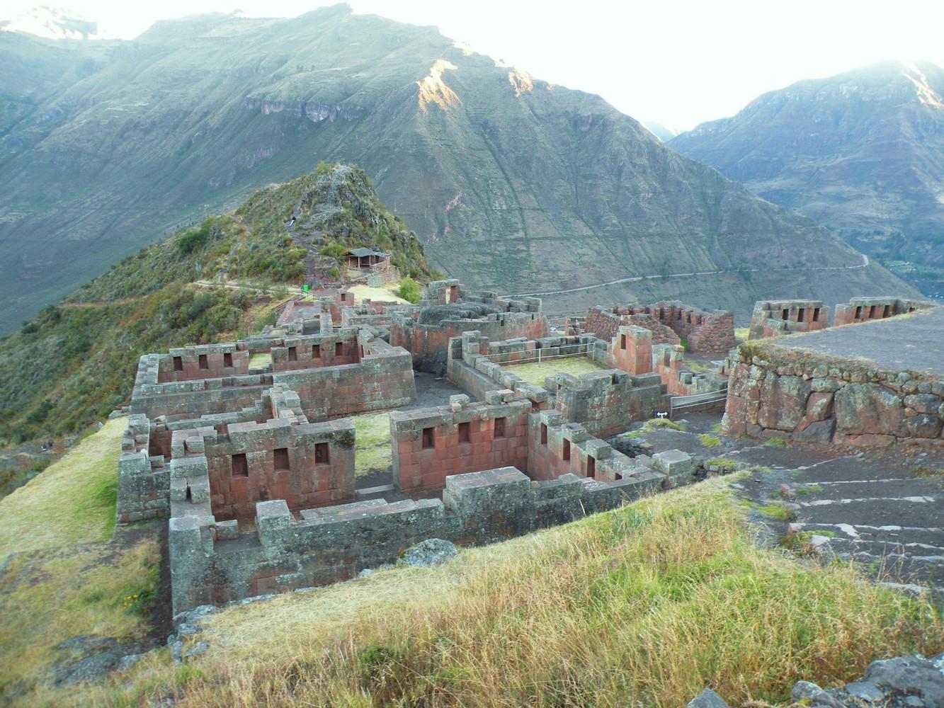 Ruines de Pisaq - Temple du Soleil Intiwatana