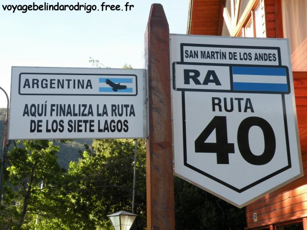 San Martin de los Andes – Route des Sept Lacs