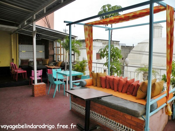 Hostal Nomadas - Terrasse sur le toit