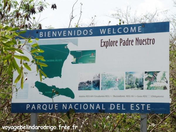 Sendero Padre Nuestro - Parque Nacional del Este