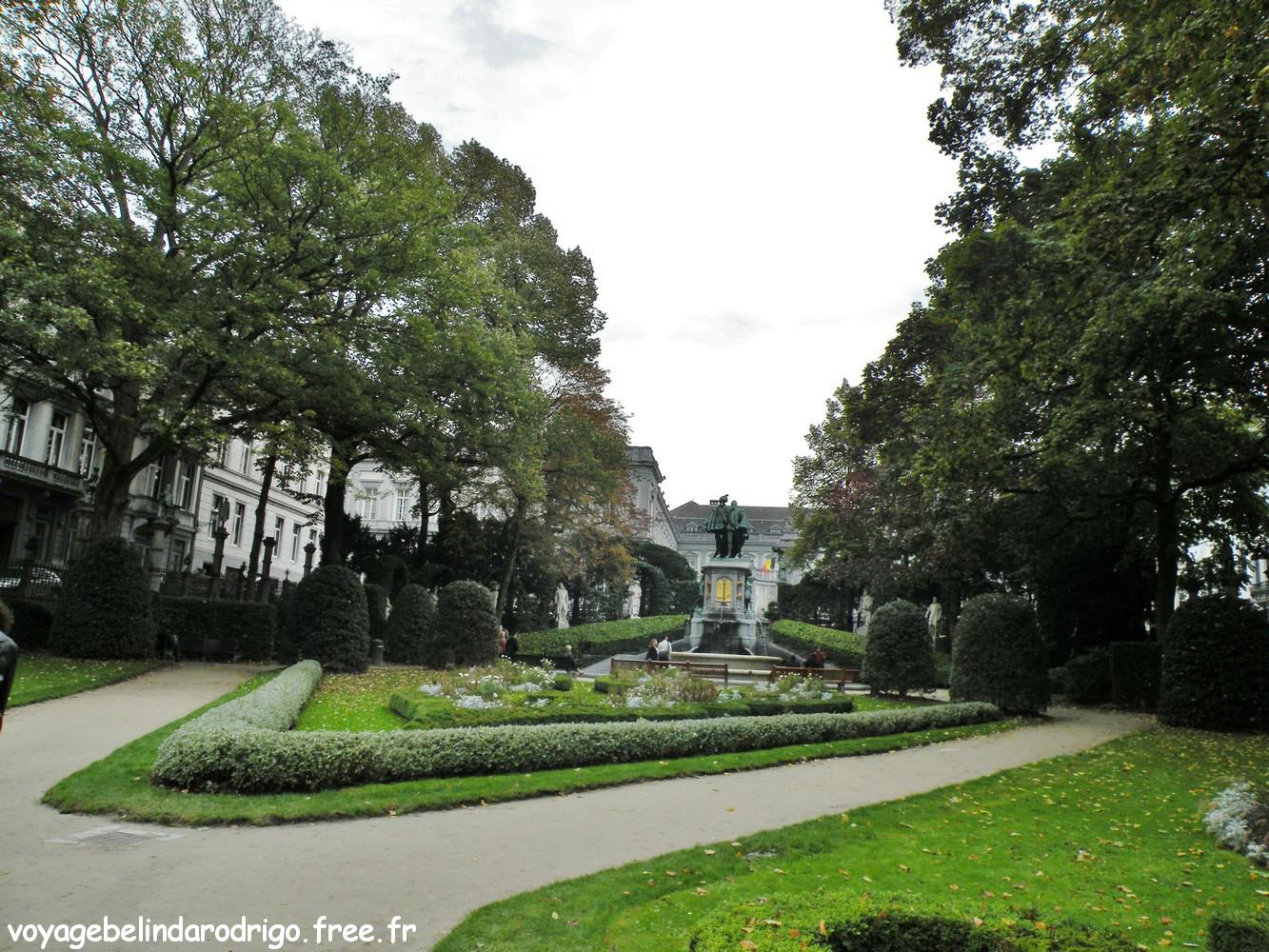 Square du Petit Sablon - Bruxelles