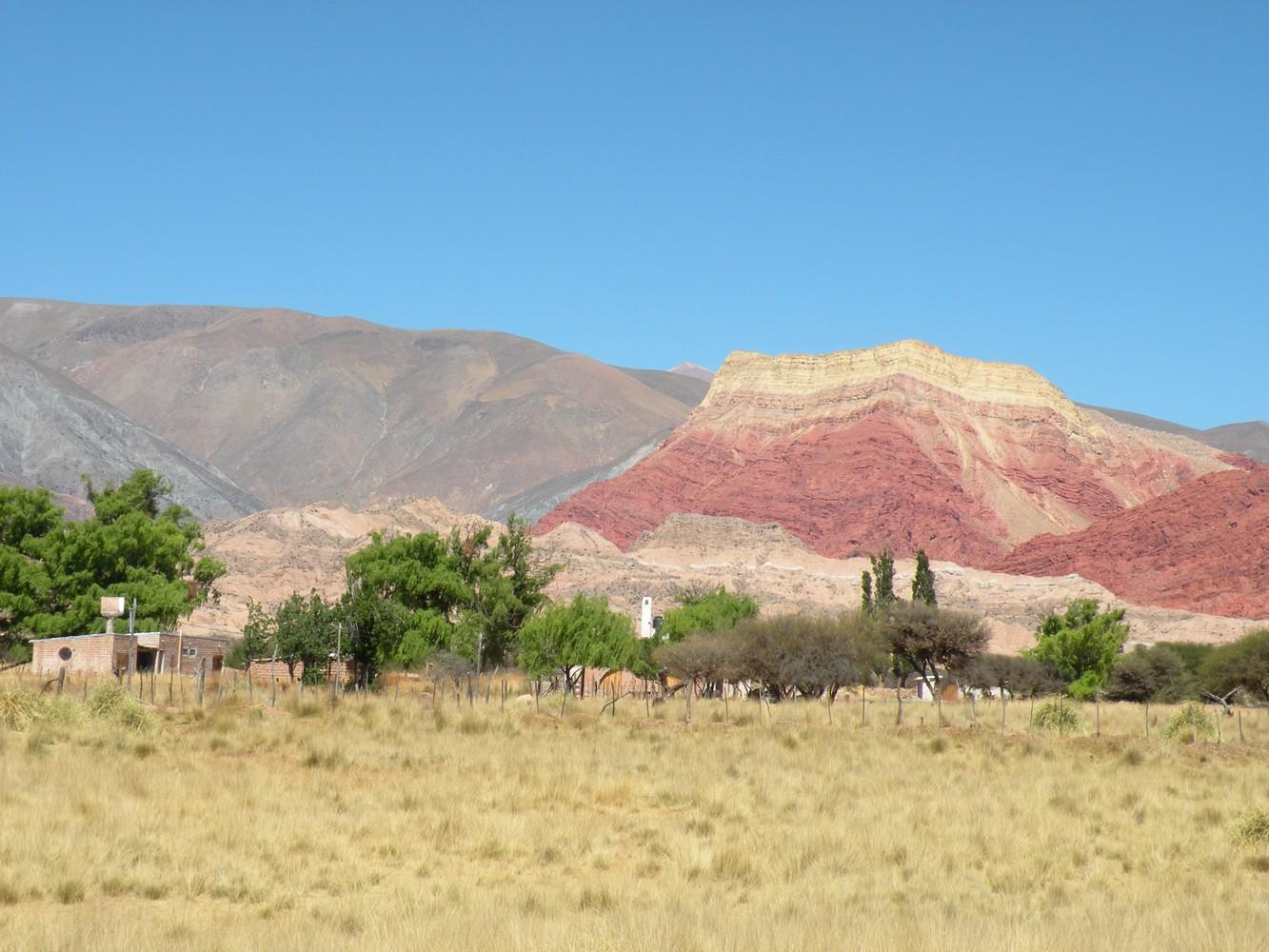 Sur la route Humahuaca - Tilcara