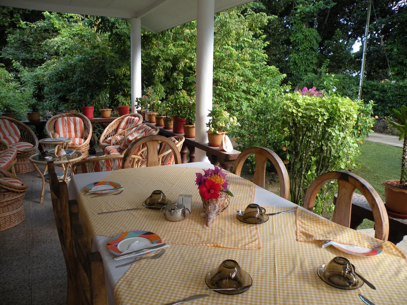 Tannette's Villa - Terrasse