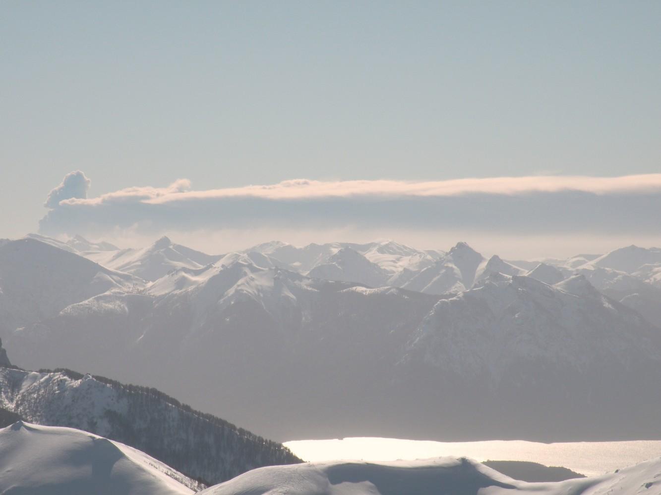 Volcan Puyehue - depuis le Cerro Catedral - Bariloche